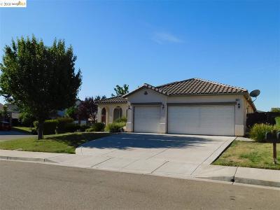 Antioch Single Family Home Price Change: 5528 Clovercrest Ct