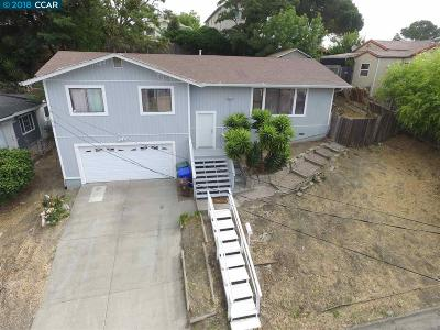 Rodeo Single Family Home For Sale: 910 Mariposa Ave