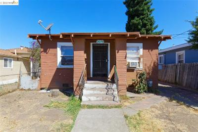 Alameda County, Contra Costa County, San Joaquin County, Stanislaus County Multi Family Home Price Change: 2079 Church St