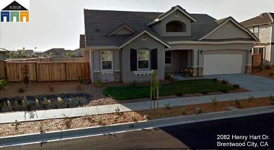 Brentwood CA Single Family Home New: $649,000
