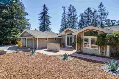 Lafayette Single Family Home Back On Market: 3954 Los Arabis Dr