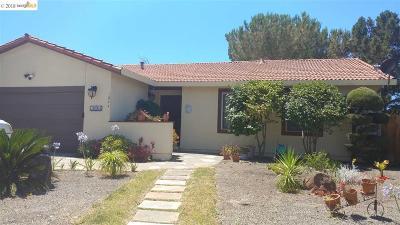 Hercules Single Family Home New: 1844 Redwood Rd