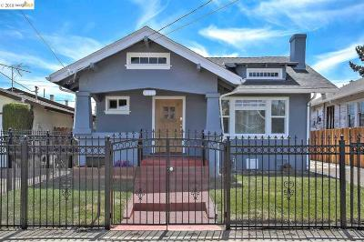 Oakland Single Family Home For Sale: 5323 Wentworth Ave