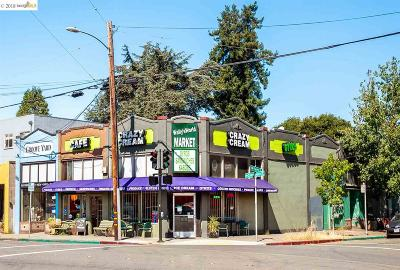 Oakland Commercial Pending Show For Backups: 5555 Claremont Ave