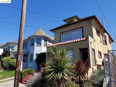 Oakland Multi Family Home New: 3820 Market