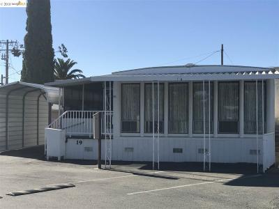 Brentwood Mobile Home For Sale: 3933 Walnut Blvd