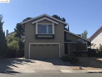 Hercules Single Family Home For Sale: 480 Turquoise Dr