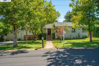 Walnut Creek Single Family Home Pending Show For Backups: 2842 Melillo Dr