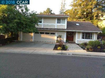 Walnut Creek Single Family Home For Sale: 1930 Whitecliff Court