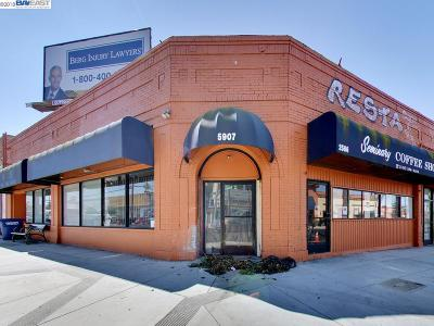 Oakland Commercial For Sale: 5901 Foothill Blvd