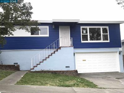 Vallejo Single Family Home Price Change: 337 Mesa Verde St