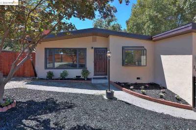 El Sobrante Single Family Home Pending Show For Backups: 1111 Manor Rd