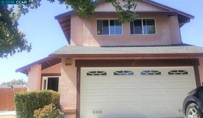San Pablo Single Family Home For Sale: 1306 Madrone Way