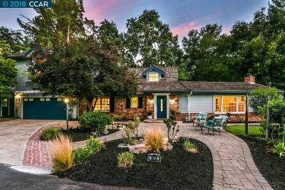 Walnut Creek Single Family Home For Sale: 973 Hawthorne Dr