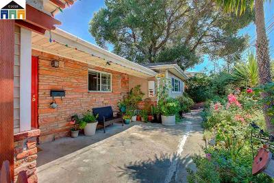 Hayward Single Family Home Price Change: 1796 East Ave