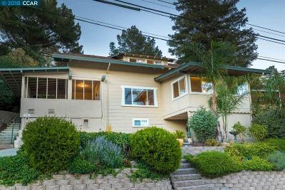 Martinez Single Family Home For Sale: 1101 Grandview Ave