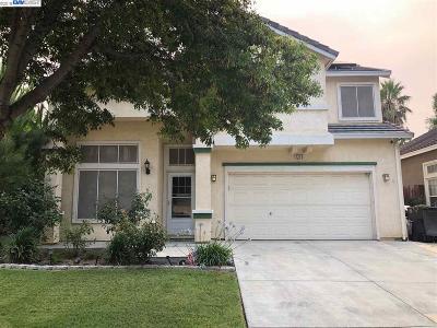 Tracy Single Family Home Price Change: 1370 Heatherfield Way