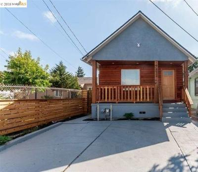 Oakland Single Family Home For Sale: 9652 E Street