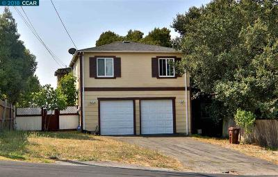 San Pablo Single Family Home For Sale: 5924 Rose Arbor Ave