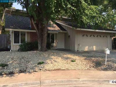 Concord Single Family Home For Sale: 4425 Willow Glen