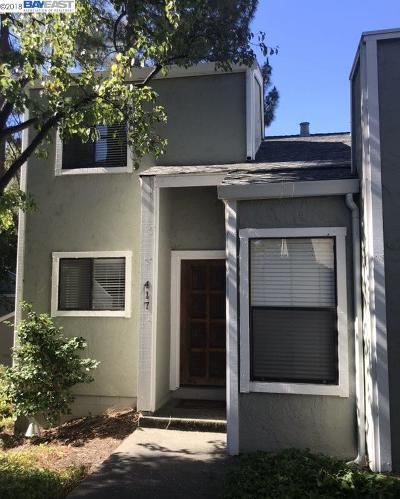 Albany, Berkeley, Concord, El Cerrito, El Sobrante, Emeryville, Hayward, Hercules, Lafayette, Orinda, Piedmont, Pinole, Pleasant Hill, Richmond, Rodeo, San Lorenzo, Union City, Walnut Creek Condo/Townhouse For Sale: 417 Scottsdale Road