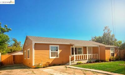 Concord Single Family Home For Sale: 2540 Maple Ave
