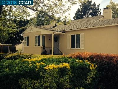 Walnut Creek Rental For Rent: 1929 Almond Ave