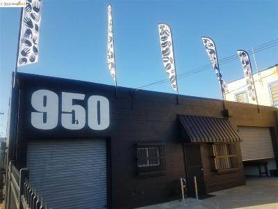 Oakland Commercial For Sale: 950 54th St