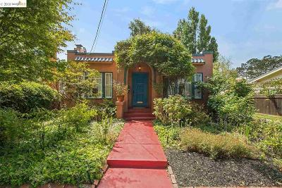 Berkeley Single Family Home For Sale: 1410 Parker St