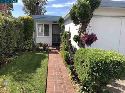 El Cerrito Single Family Home For Sale: 1409 Everett Street