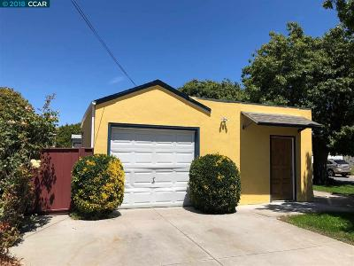 San Pablo Single Family Home For Sale: 2301 18th St