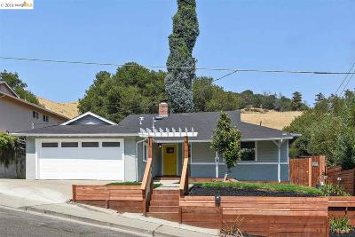 Oakland Single Family Home For Sale: 3287 Blandon Rd