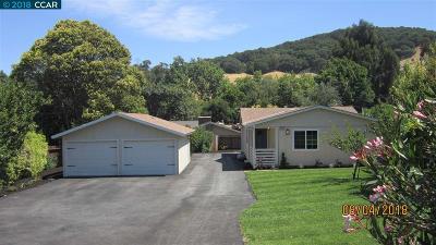 El Sobrante Single Family Home Price Change: 6051 San Pablo Dam Rd
