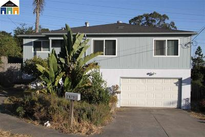El Cerrito CA Single Family Home Price Change: $899,000