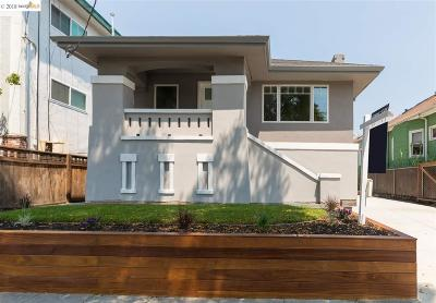 Berkeley Multi Family Home New: 1631 Woolsey