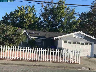 Pinole Single Family Home New: 2312 Ramona St