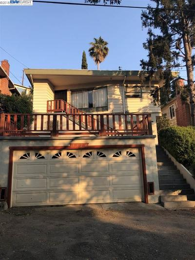 Oakland Single Family Home For Sale: 3324 Courtland Ave.