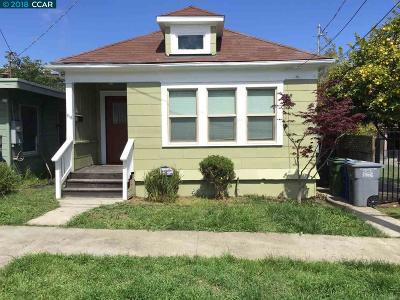 El Cerrito CA Single Family Home New: $649,000