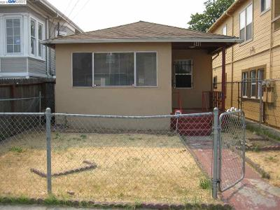 Oakland Single Family Home New: 940 72nd Ave