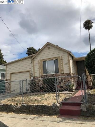 Oakland Single Family Home New: 1902 88th Ave