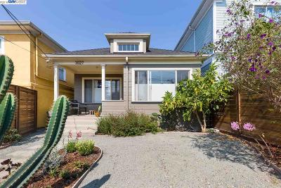 Oakland Single Family Home For Sale: 3027 Magnolia St