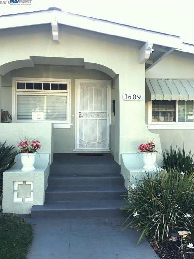 Alameda CA Single Family Home New: $785,000