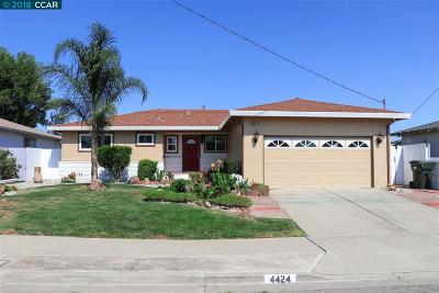 Antioch Single Family Home New: 4424 Belle Dr