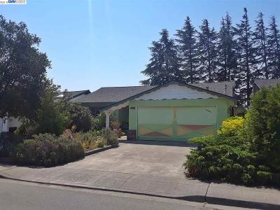 Castro Valley Single Family Home New: 5221 Reedley Way