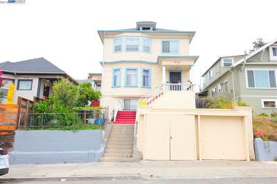 Oakland Multi Family Home New: 914 E 18th St