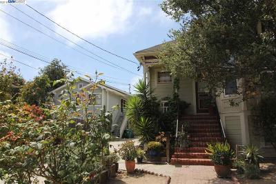 Alameda Multi Family Home For Sale: 462 Buena Vista Ave
