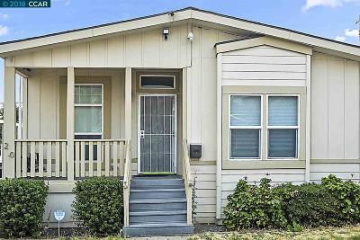 Antioch Mobile Home For Sale: 3301 Buchanan Rd.