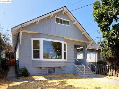 Alameda CA Single Family Home New: $1,100,000
