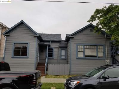 Oakland Multi Family Home New: 502 Lewis St