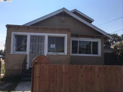 Oakland, Berkeley, Emeryville, Hayward, San Leandro, San Francisco, Alameda, Richmond Single Family Home New: 1736 70th Ave